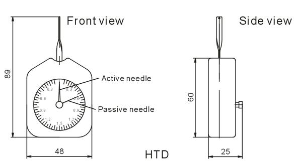 dial tension gauge